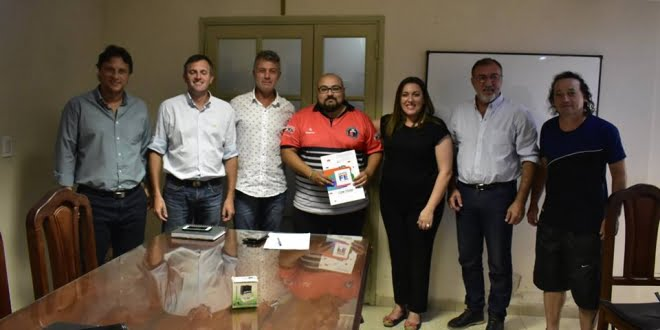 La Municipalidad de Frontera entregó $120.000 al Club La Hidráulica