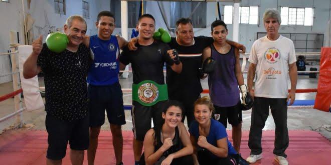 José «Chinito» Acevedo estuvo en la Escuela Municipal de Boxeo de Devoto