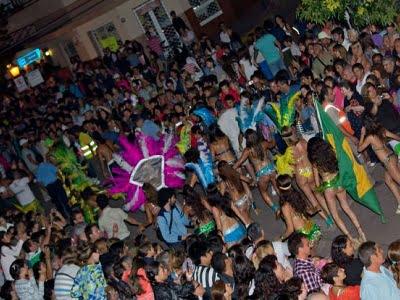 Última noche de Carnavales en El Tío