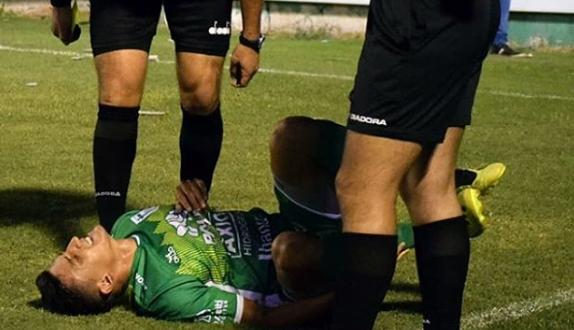 Tras una lesión, Lucas Algozino se aleja de las canchas