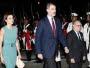 Los reyes de España llegaron al país, en su primera visita oficial