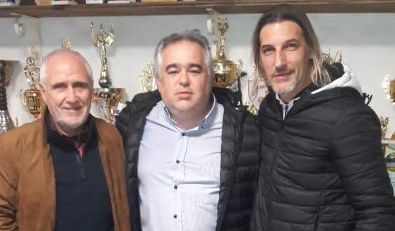 Freyre: El «pipa» Gancedo visitó el club 9 de Julio Olímpico