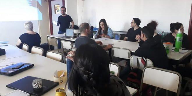 Se realizó un taller de edición en el CRES