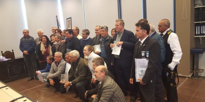 Veteranos de Malvinas fueron declarados «ciudadanos ilustres» de San Francisco