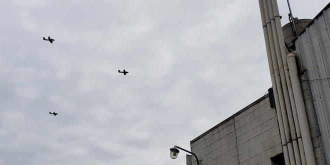 ¿Por qué pasaron aviones militares por San Francisco?