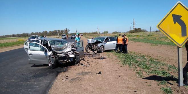Violento accidente en cercanías de Luxardo