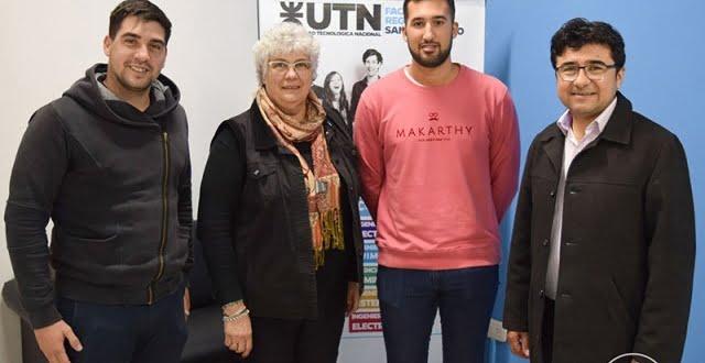 Estudiante español realiza prácticas de investigación en energía solar en la UTN