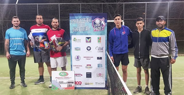 Los campeones de «Locos por el Pádel»
