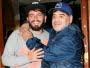 Maradona se convirtió en abuelo por cuarta vez