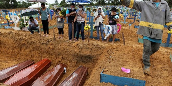 Brasil registra más de 20.000 muertos desde el inicio de la pandemia