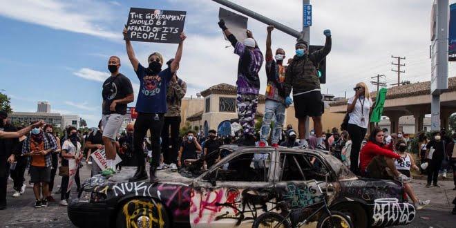 Crecen las protestas contra el racismo y Trump amenaza reprimir con el ejército