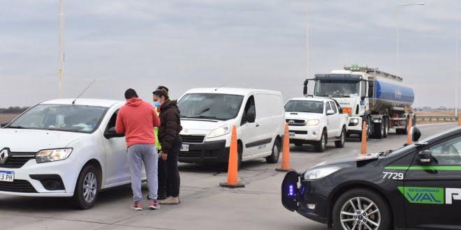 Se endurecen los controles en los accesos a la provincia de Santa Fe