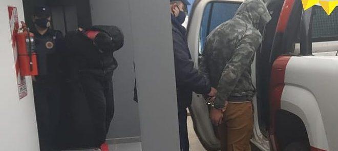 Un detenido en Brinkmann por violencia familiar