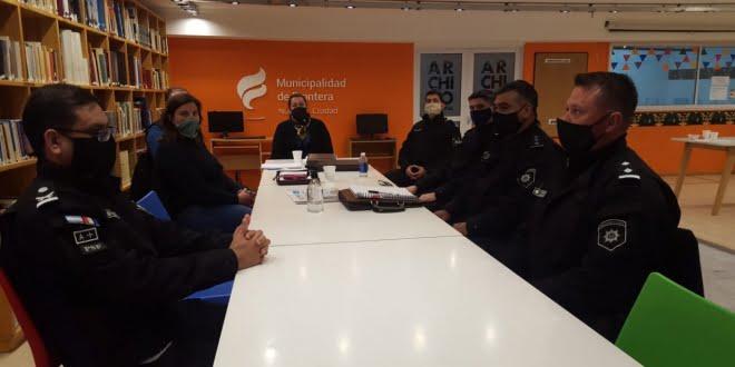 Frontera: se llevó a cabo una mesa de trabajo sobre seguridad