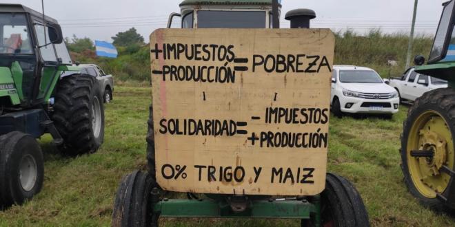 La OCDE ubicó a la Argentina como el país que menos apoya a sus productores