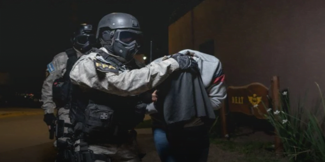 La FPA detuvo a un hombre de nacionalidad venezolana por un caso delivery de Arroyito