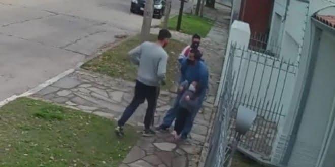 Quilmes: caminaba con su nena de 4 años y lo asaltaron