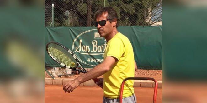 Claudio Gariotti y una vida dedicada al tenis