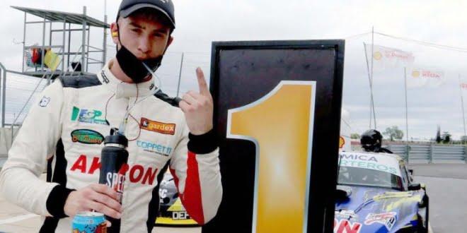 Tomy Brezzo logró su primer triunfo en el TC Pista