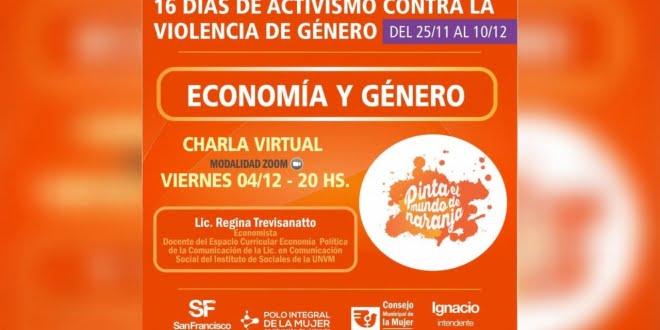 """CRES: se realizará charla de """"economía y género"""""""