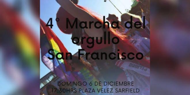 Se llevará a cabo la 4° Marcha del orgullo en San Francisco