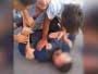 Jóvenes agredieron a un policía al que amenazaron con quitarle un arma
