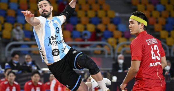 Triunfazo de Argentina ante Japón en el Mundial de Handball