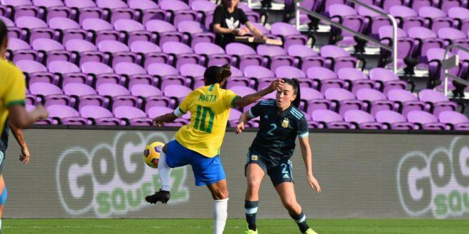 La Selección argentina cayó ante Brasil por la SheBelieves Cup