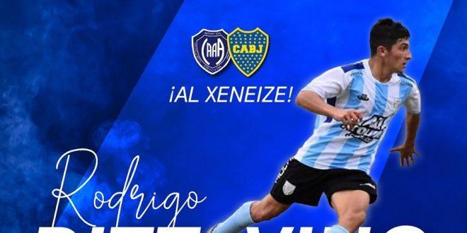 Pattavino, el joven devotense ya es jugador de Boca Juniors