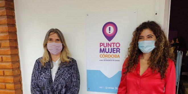 Alejandra Piasco acompaño a la Ministra de la Mujer en actividades realizadas en el Departamento San Justo