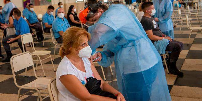 El sábado se vacunaron 5.362 personas contra el Covid-19
