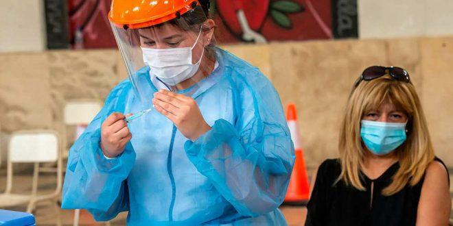 El sábado se vacunaron 384 personas contra el Covid-19 en la provincia