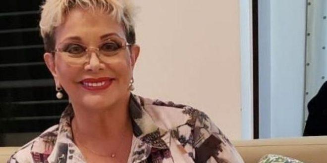 Carmen Barbieri se mostró públicamente luego de su dura internación