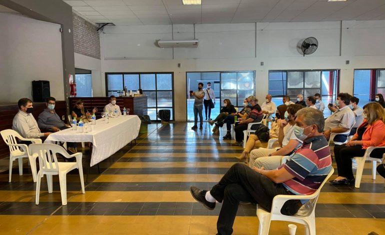 Municipios se reunieron por la situación epidemiológica regional