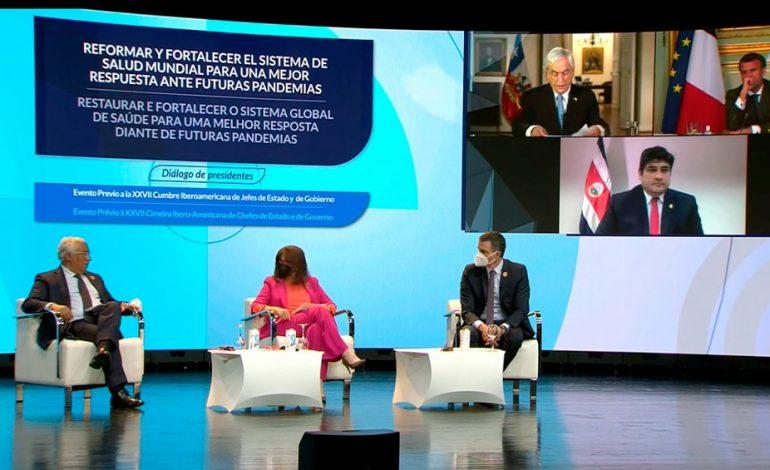 Mandatarios de Europa y la América Latina piden un tratado internacional sobre pandemias
