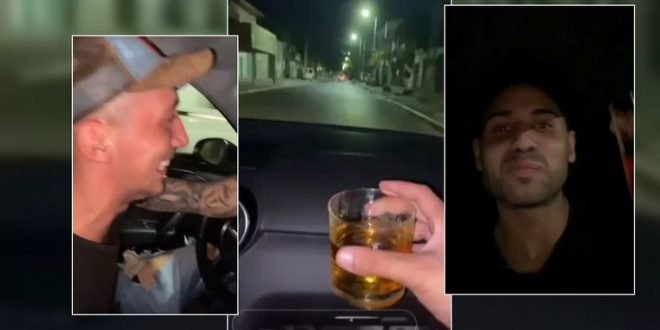 Alcohol, velocidad y muerte: el video antes del choque fatal
