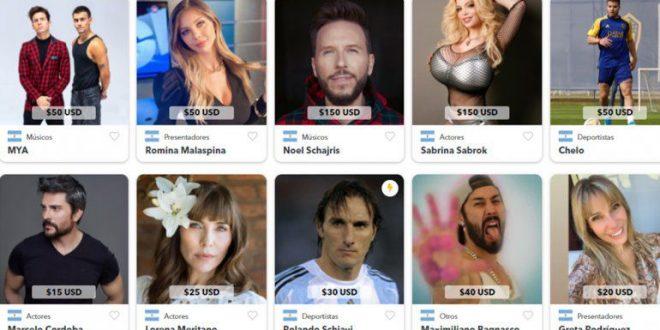La nueva forma de facturar de los famosos: saludos a precio dólar