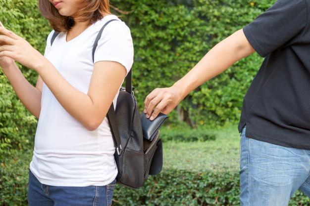 Le robaron la billetera a una mujer en la calle