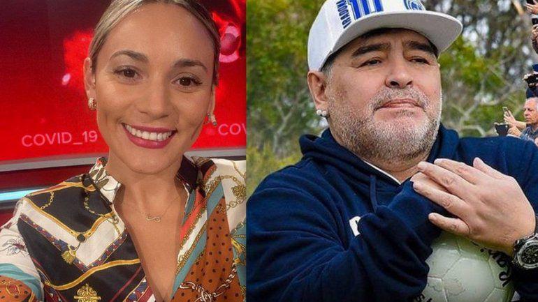 Rocío Oliva le ganó a Google y deberá eliminar su video de la discusión con Maradona