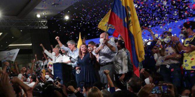 Ecuador: Lasso se impuso con el 52% de los votos y será el próximo Presidente