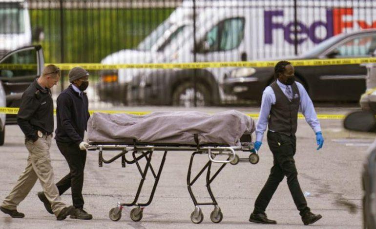 Estados Unidos: al menos 8 muertos tras tiroteo en una oficina de FedEx