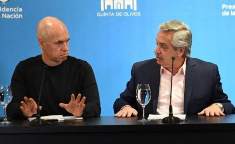 Cumbre en Olivos: tras los cruces, Fernández recibe a Rodríguez Larreta