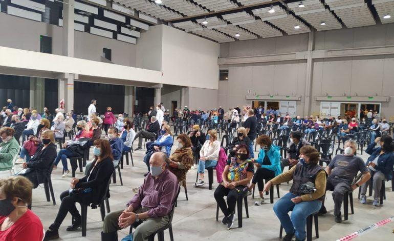 2000 vecinos de la ciudad recibieron su dosis contra el Covid-19
