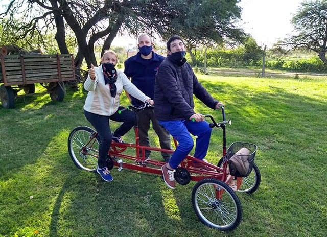 El sueño de la bicicleta para Matías se hizo realidad
