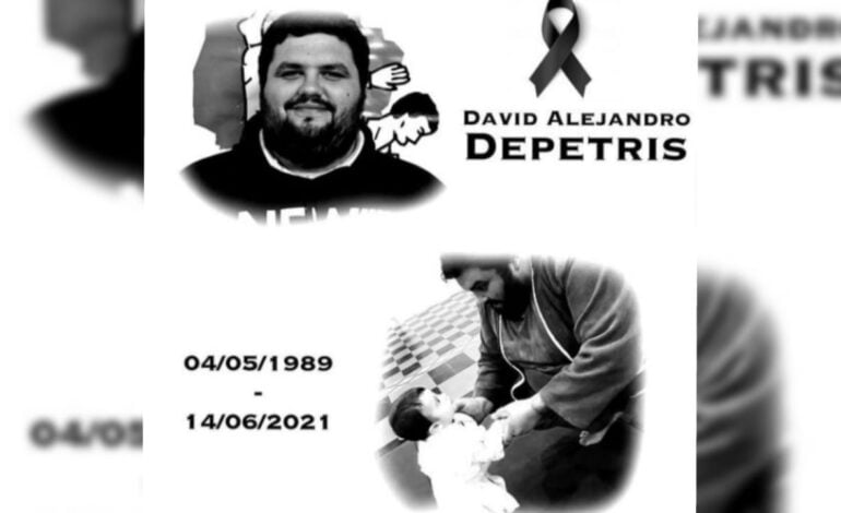 La Federación de Judo de Córdoba despidió a David Depetris