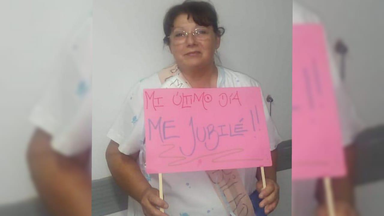 Tristeza en el Hospital por la muerte de una enfermera jubilada