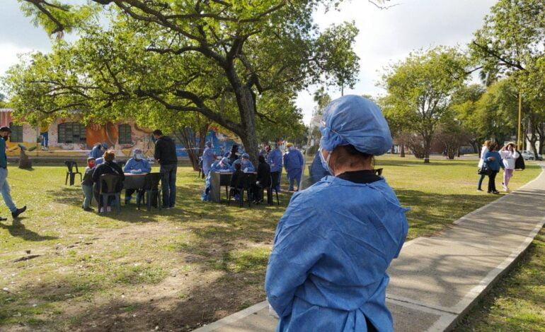 Se lleva a cabo el Operativo Identificar en la Plaza Vélez Sarsfield
