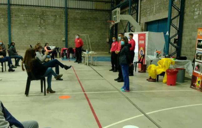 Más de 50 voluntarios se sumaron al COE