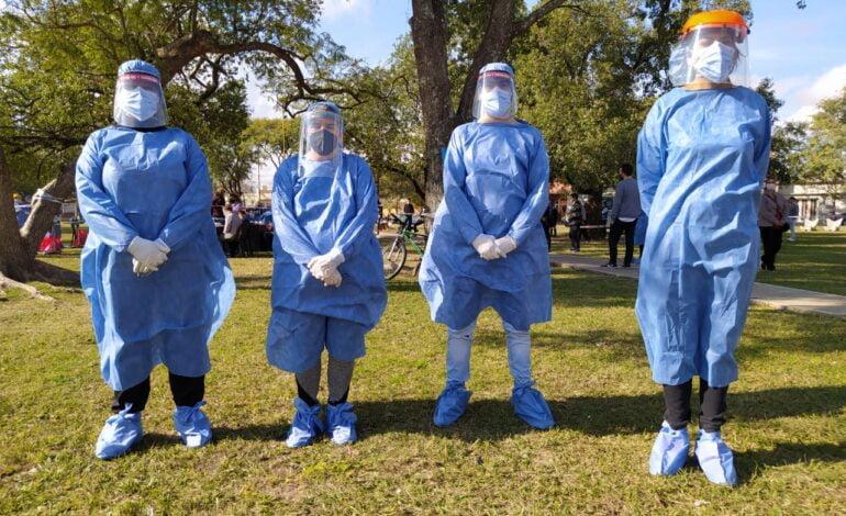 Héroes en pandemia: los Voluntarios del COE