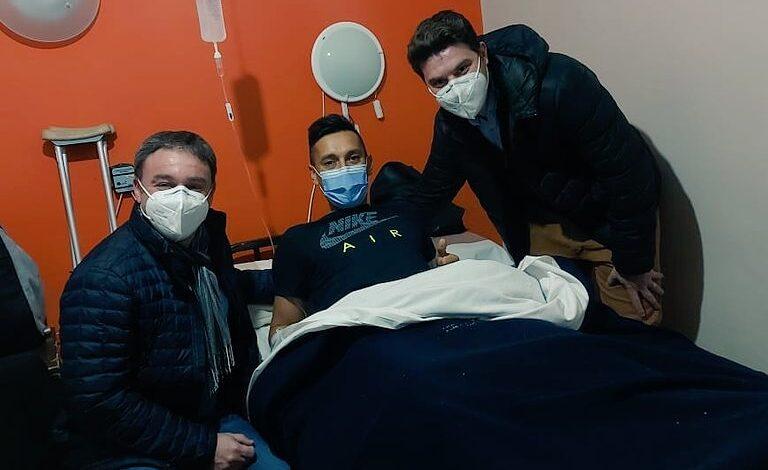 La operación de Emanuel Urquiza fue un éxito